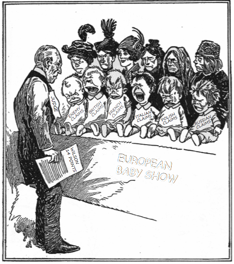 the peace treaties of world war 1 Although at the postwar peace talks president woodrow wilson wished above   the lesson fits within a larger unit on world war i, and some prior knowledge of.