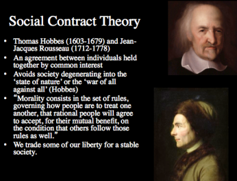Hobbes Social Contract