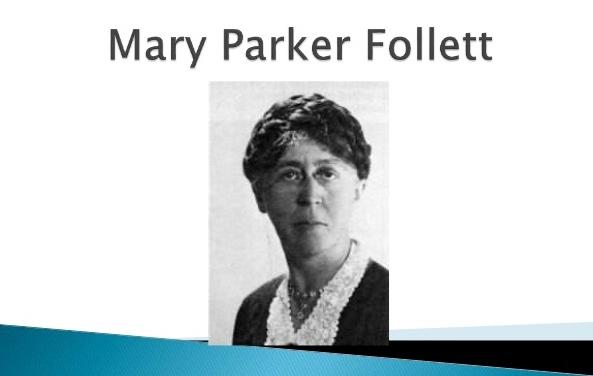 Mary P. Follett: Creating Democracy, Transforming Management